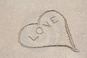 Love is like sand, only solid if forged in lighting.