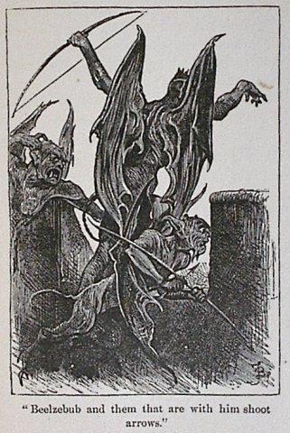 Beelzebun the satan credit  https://commons.wikimedia.org/wiki/File:Beelzebub_and_them_with_him.jpg