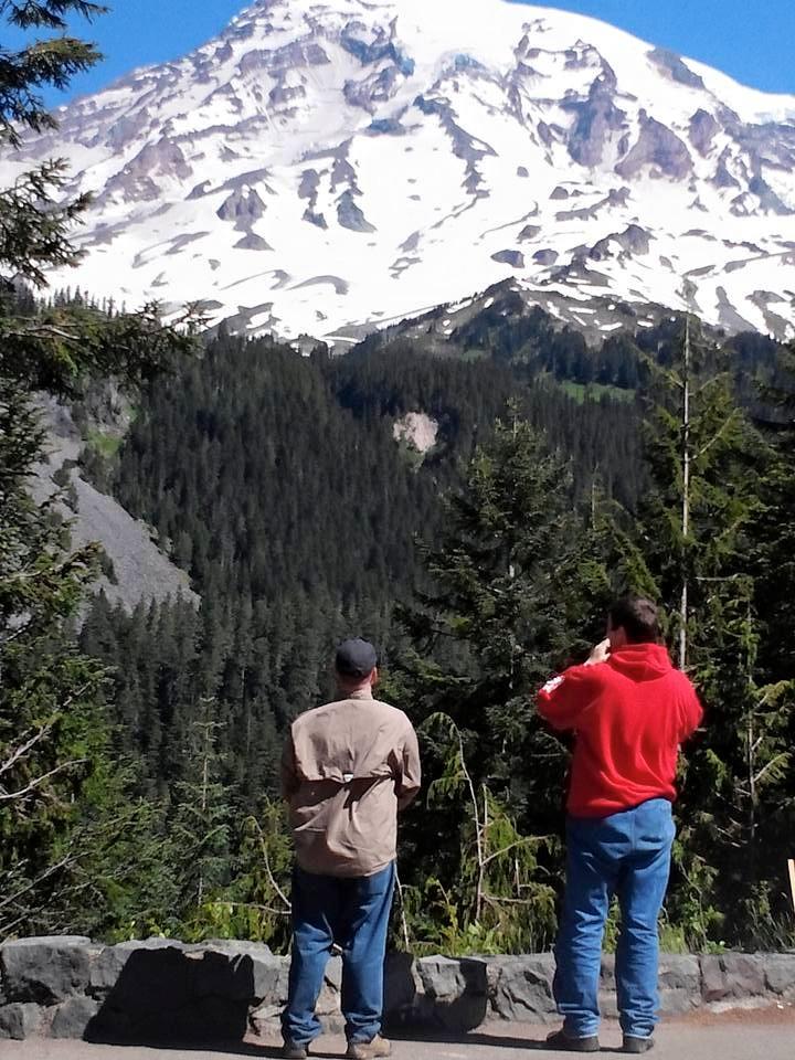 Mt Adams I think