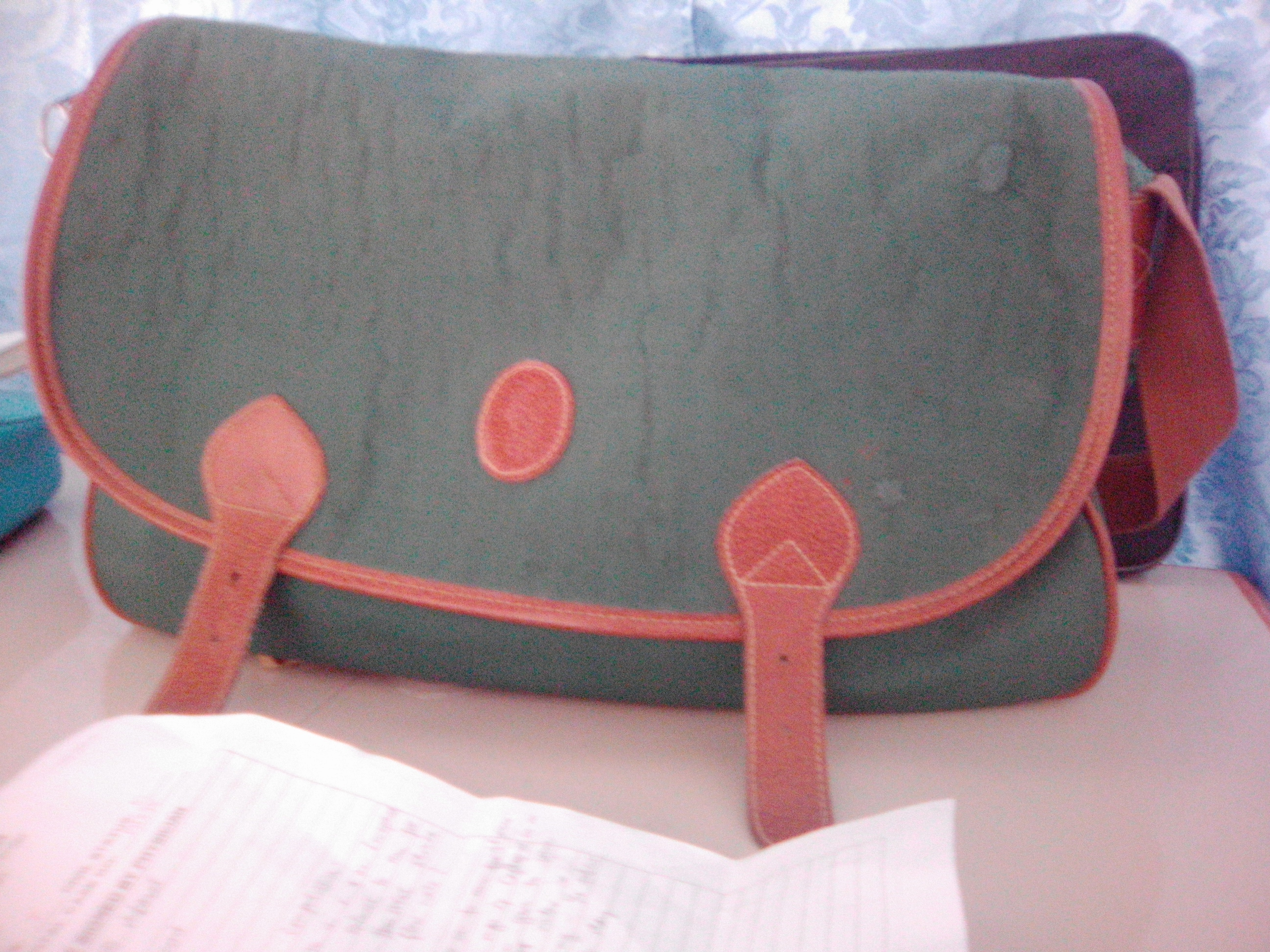 my green POLO bag