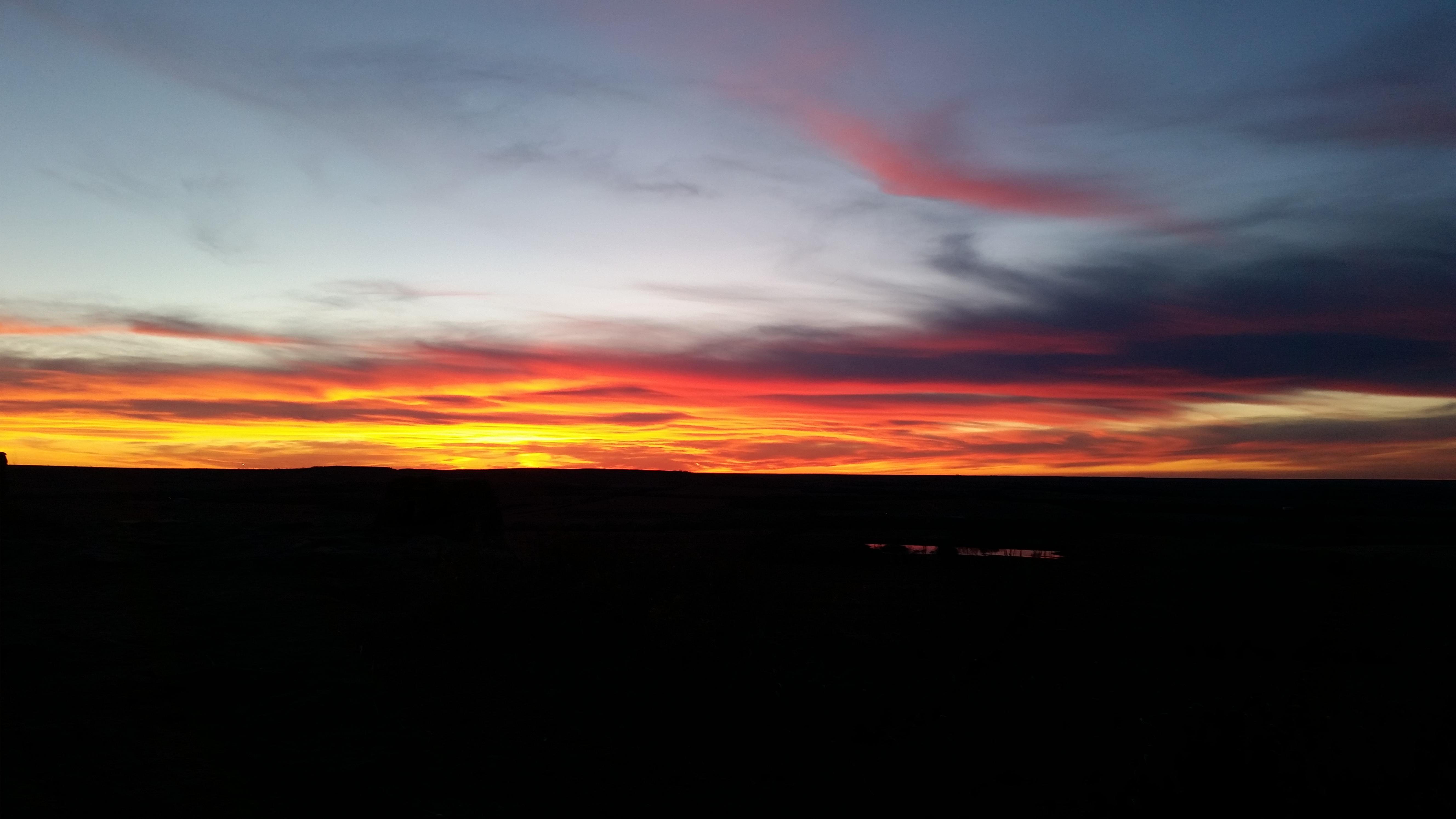 Sunset, photos