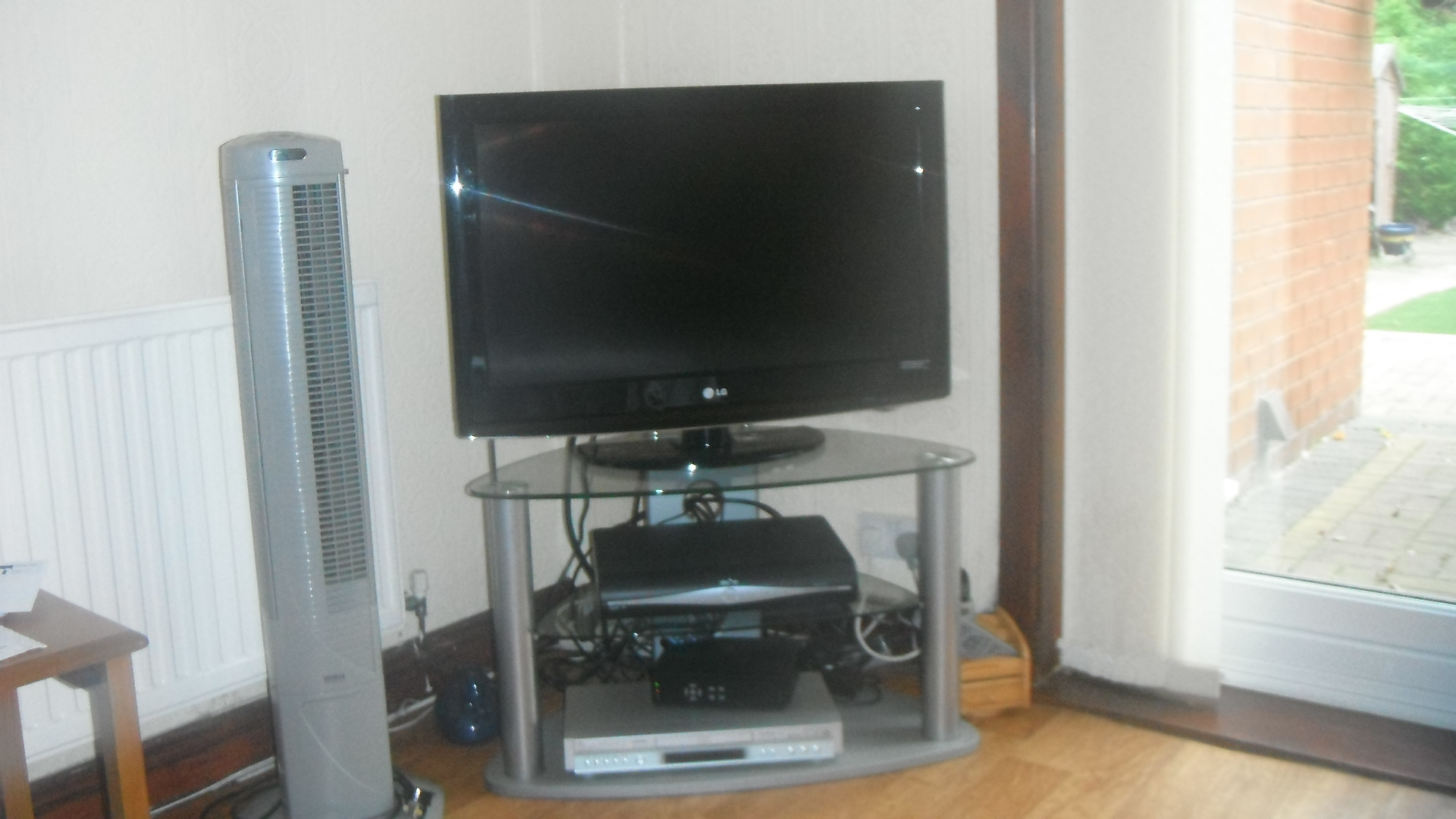 photo taken by me - my TV set