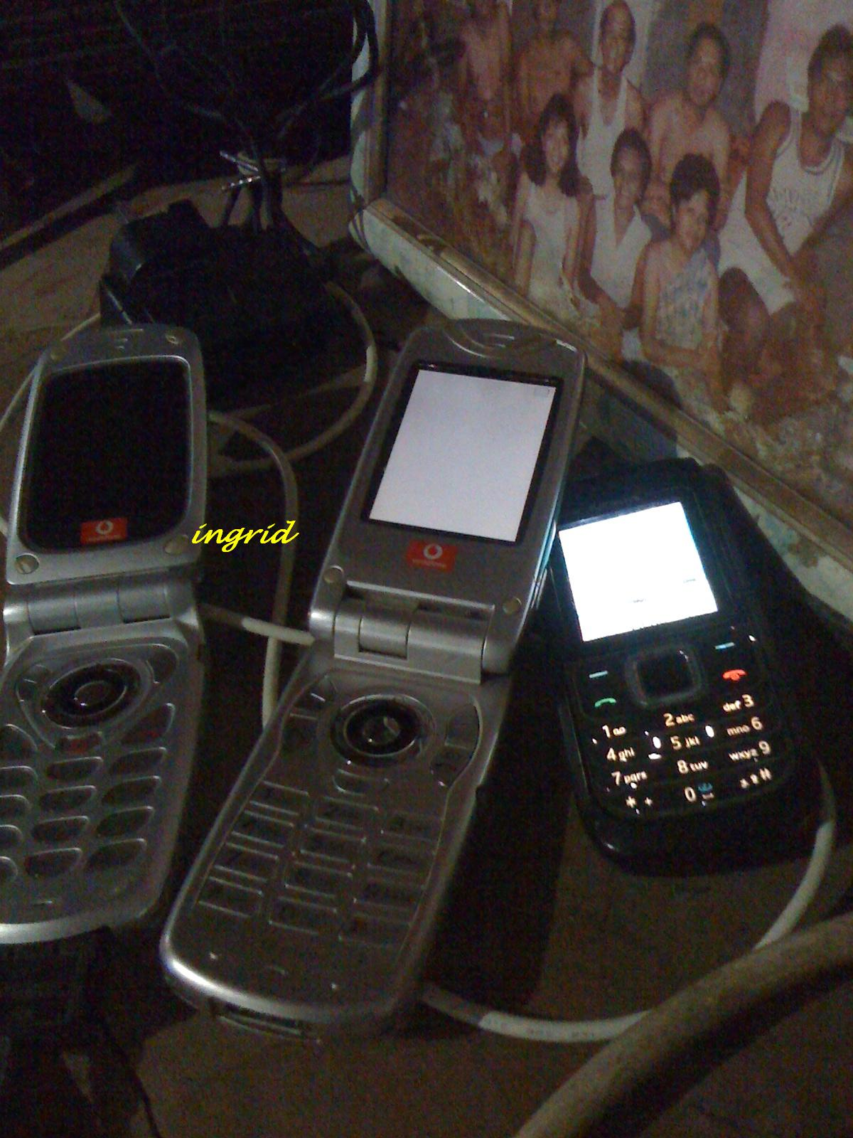 my old cell phones