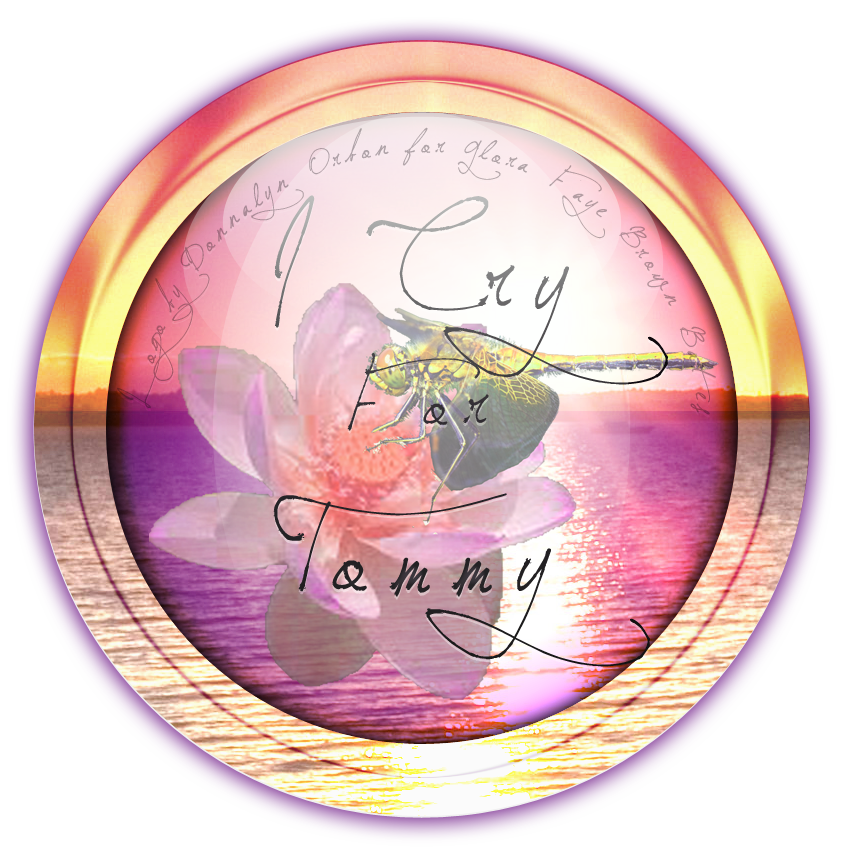 Logo made for me for my writing ... I Cry For Tommy