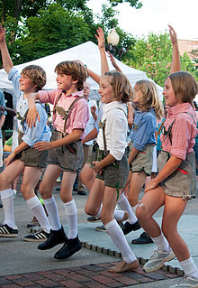 Schuhplattler Dance
