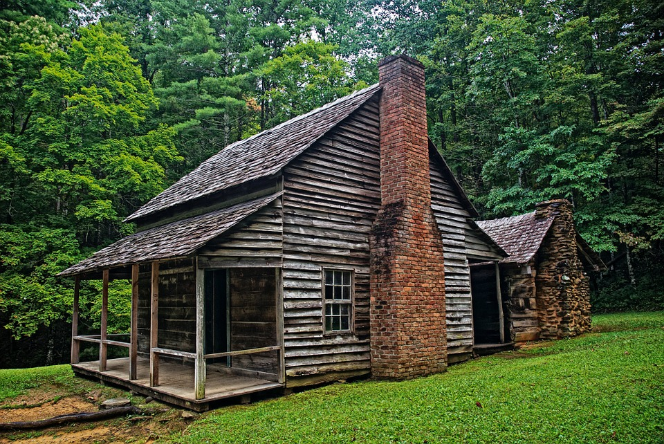 Cabin image by Pixabay