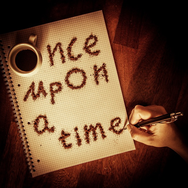 Once Upon a Time image from Pixabay