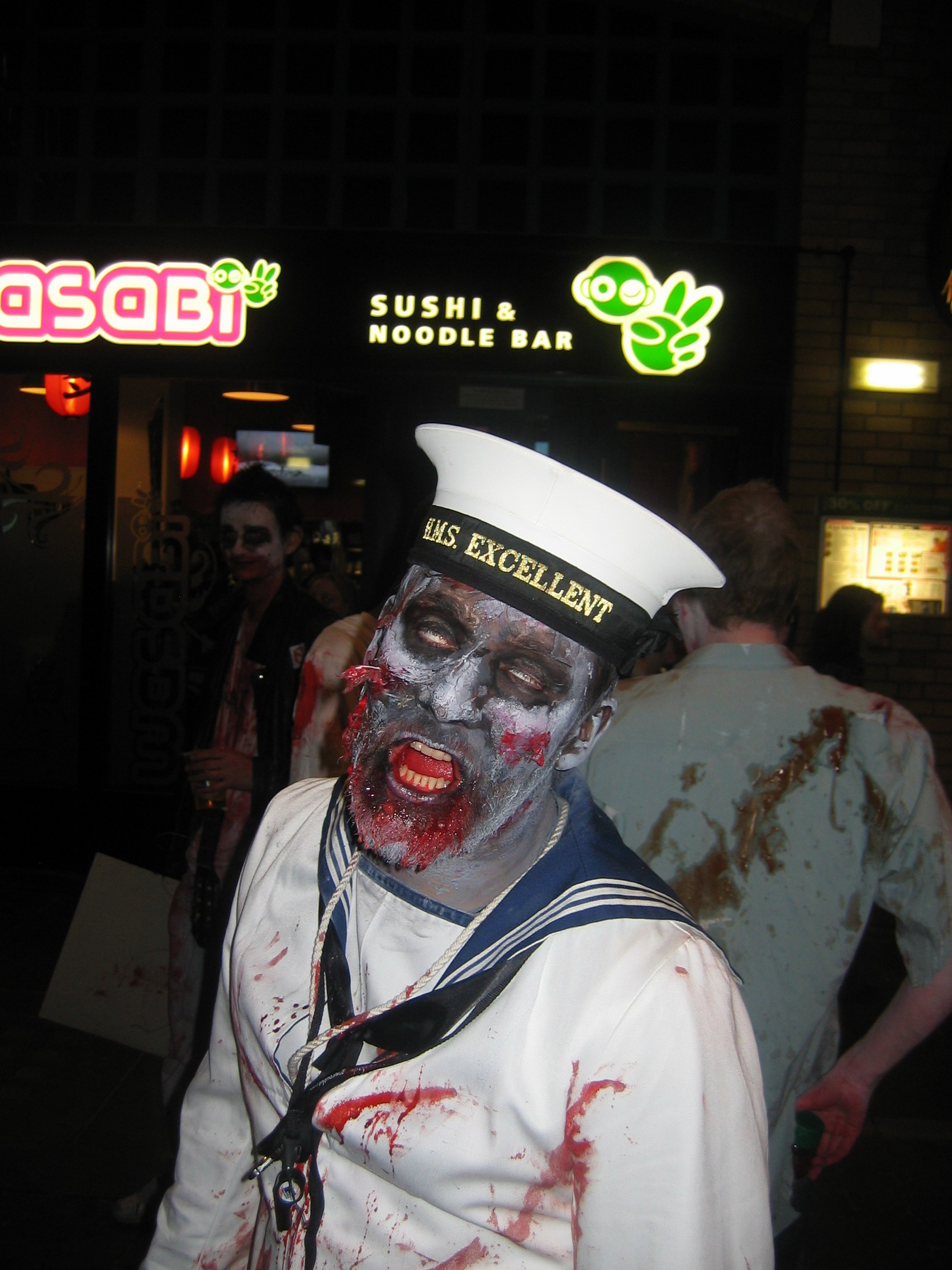 Photo taken by me – zombie sailor