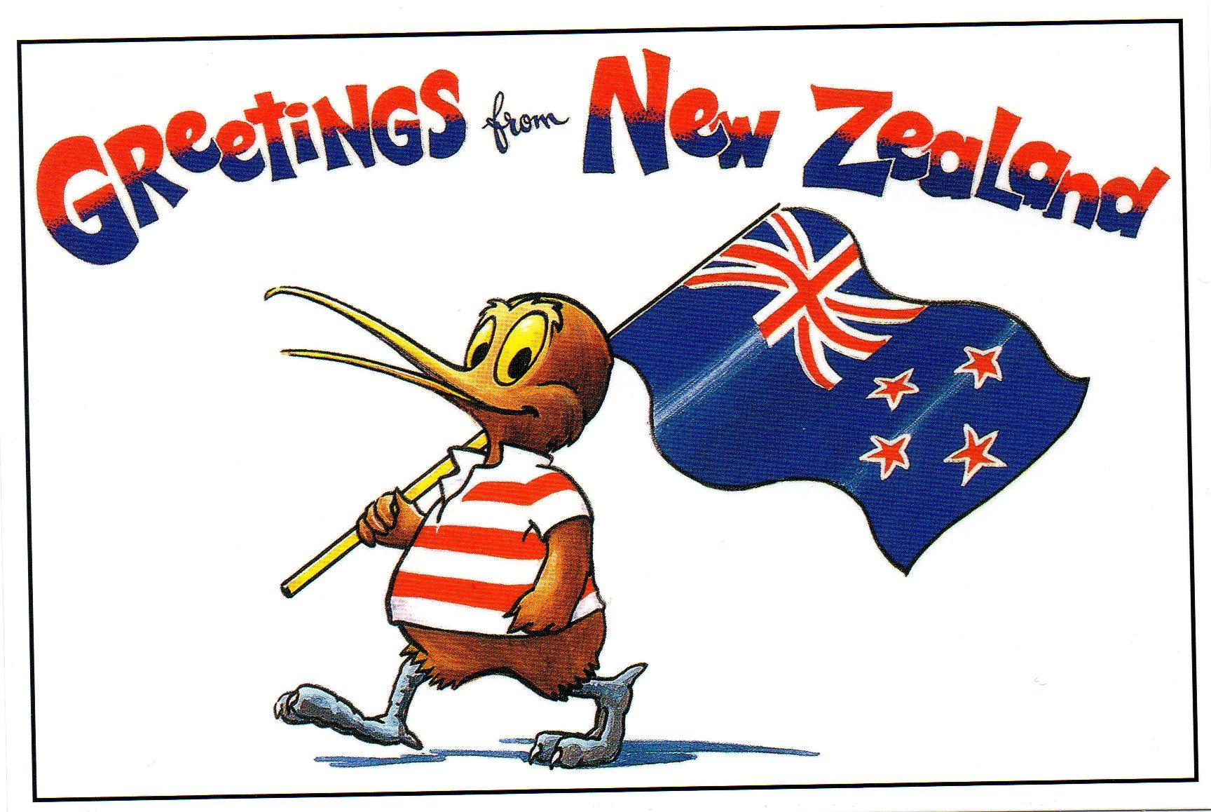 Postcard by The New Zealand Souvenir Company