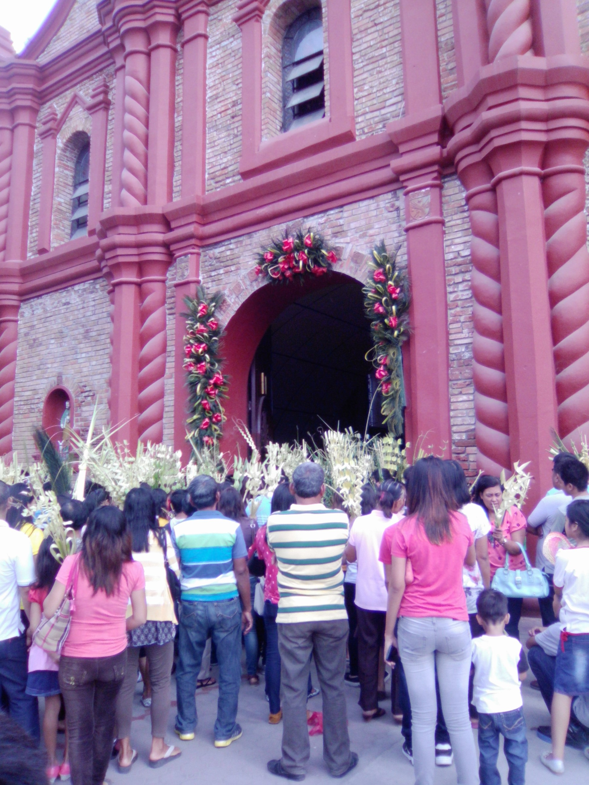the entrance of our Cathedral