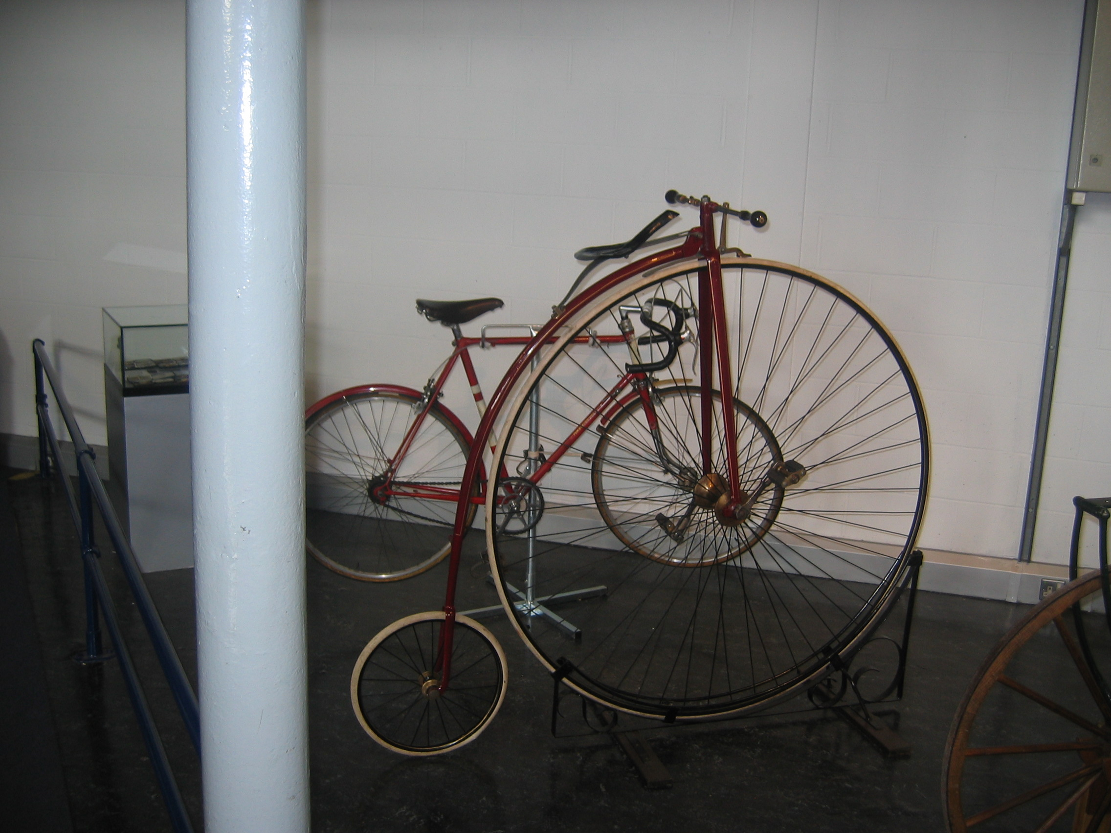 Photo taken by me – The MOSI Penny Farthing
