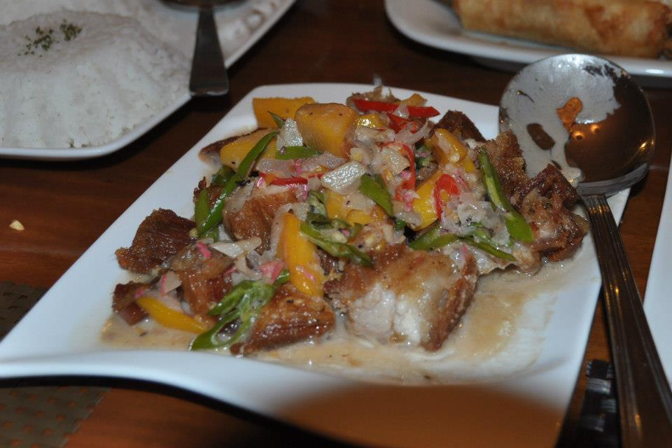 The Bicol Express we ate at a restaurant sometime ago