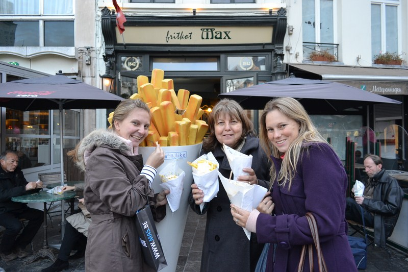 I have been there - French fries Country