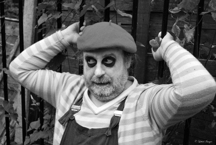 Photo taken by Lethal Gem – Me as a mime artist