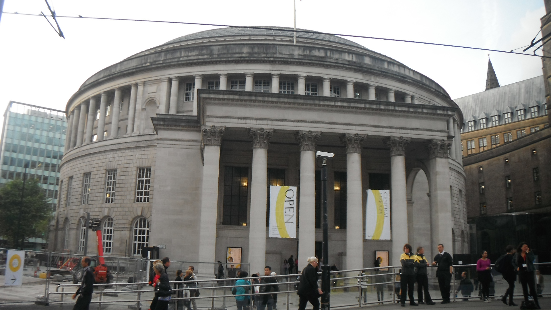 Photo taken by me – Manchester Central Library