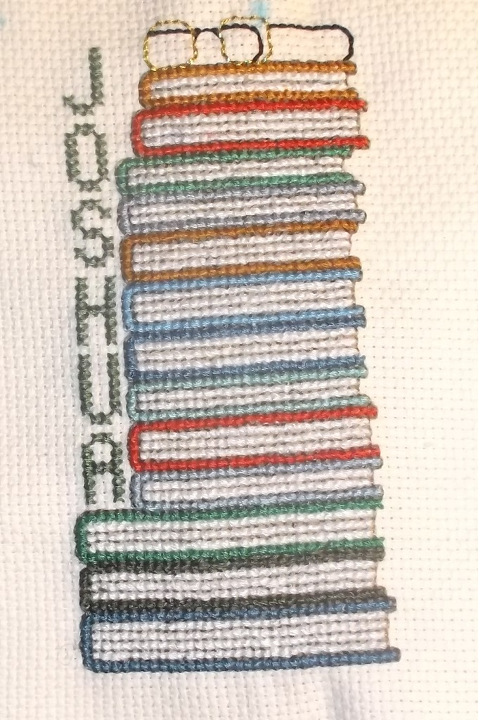 Bookmark I made for a commission with changed color of name