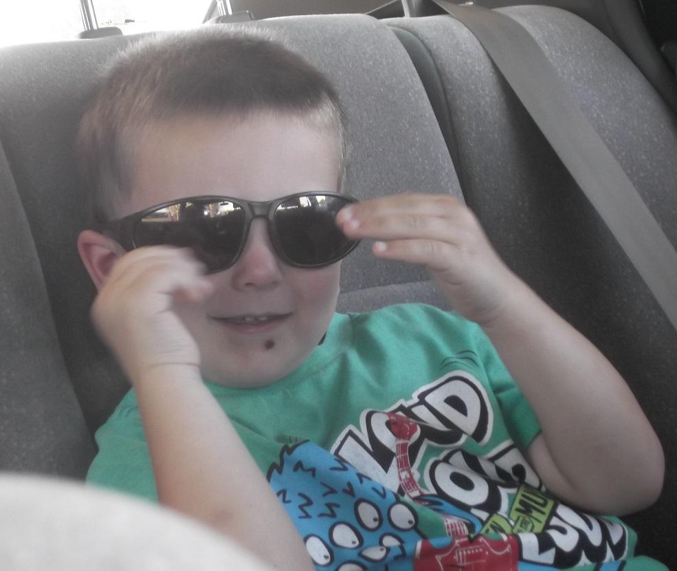 Photo of my nephew Frankie taken by me 4-13-16