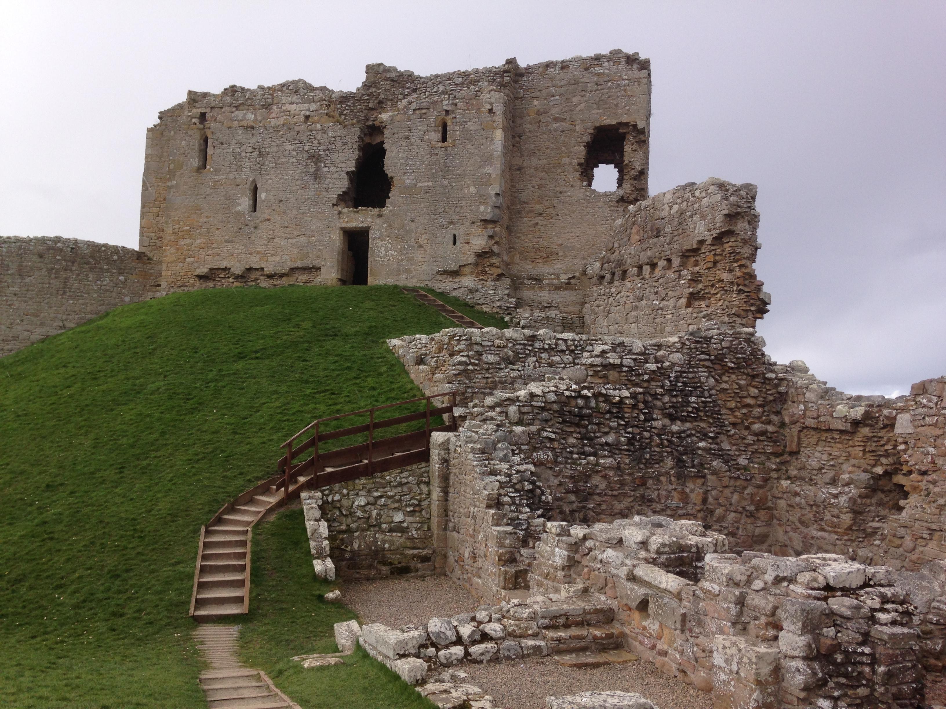 Duffus Castle - my own photo