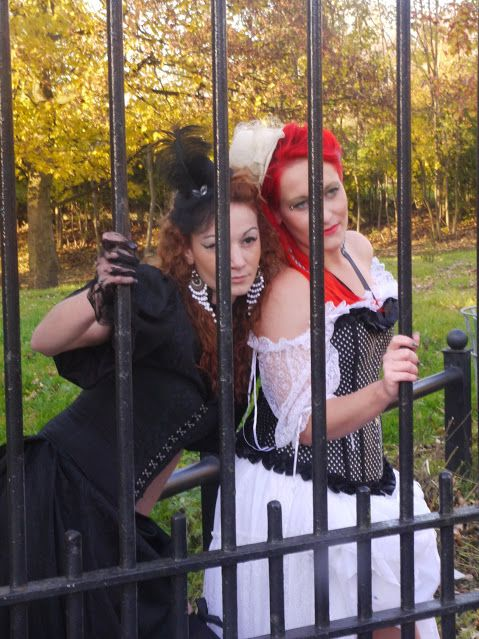 Photo taken by me – steampunk ladies