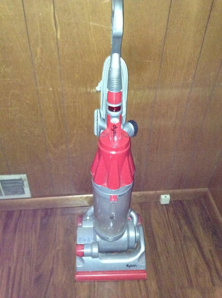My vacuum cleaner