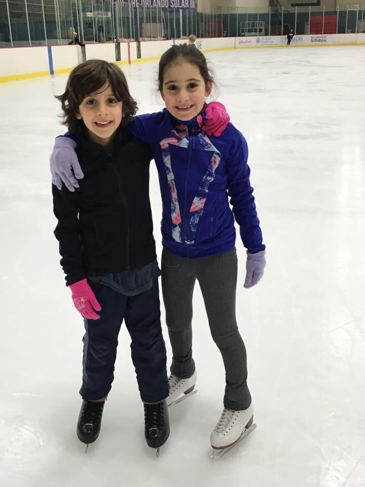 Ice Skaing Practice in Florida