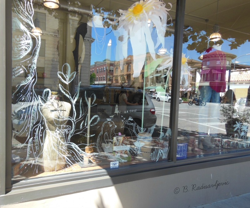 Spring Display Window in Paso Robles