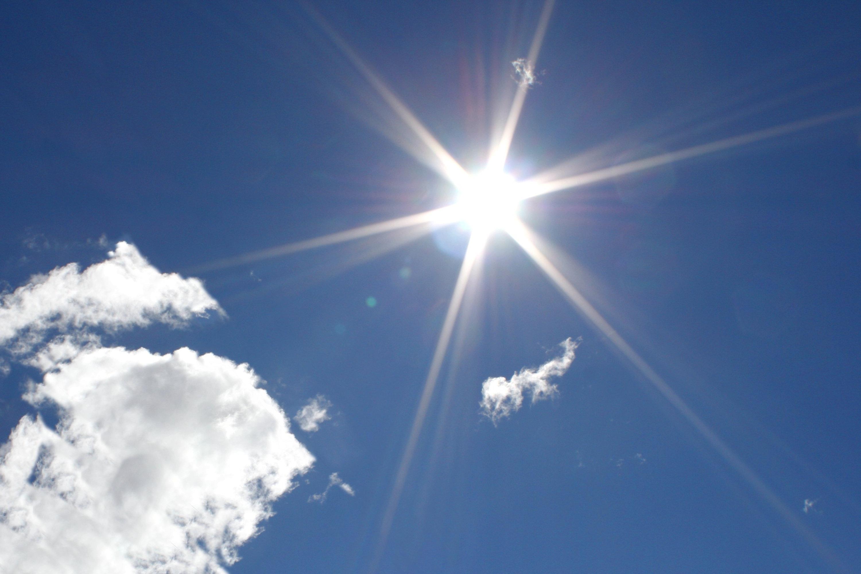 Фото сонце опівдні 2 фотография