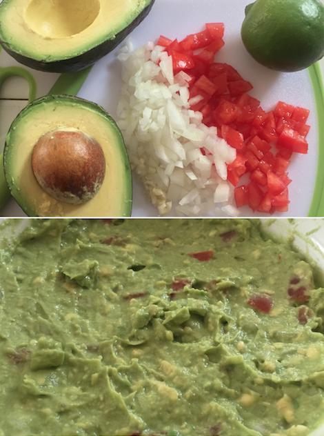 Yummy guacamole!