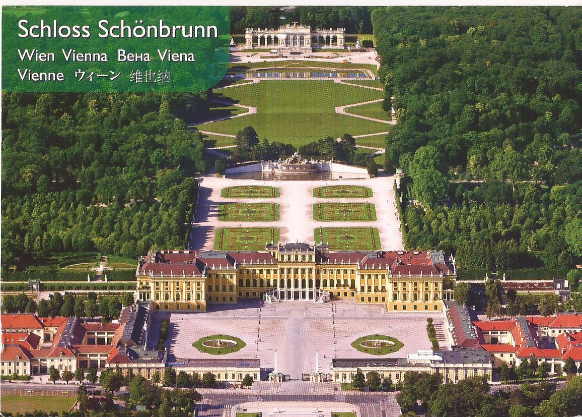 Scan of the latest Postcard I received -- this one from Austria