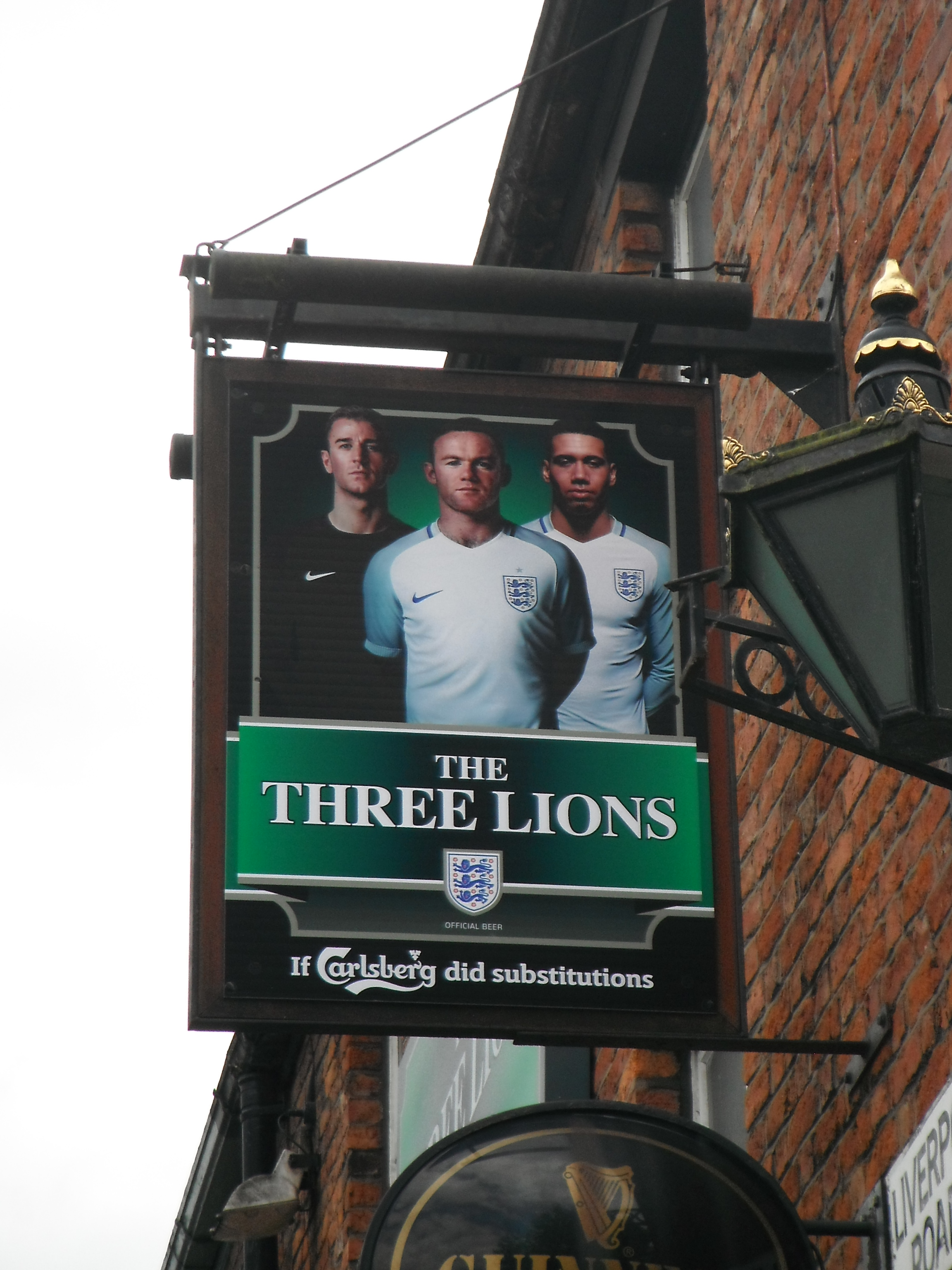 Photo taken by me – The Three Lions Pub, Castlefield, Manchester