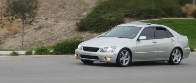 Lexus IS 300, a car we used to own.