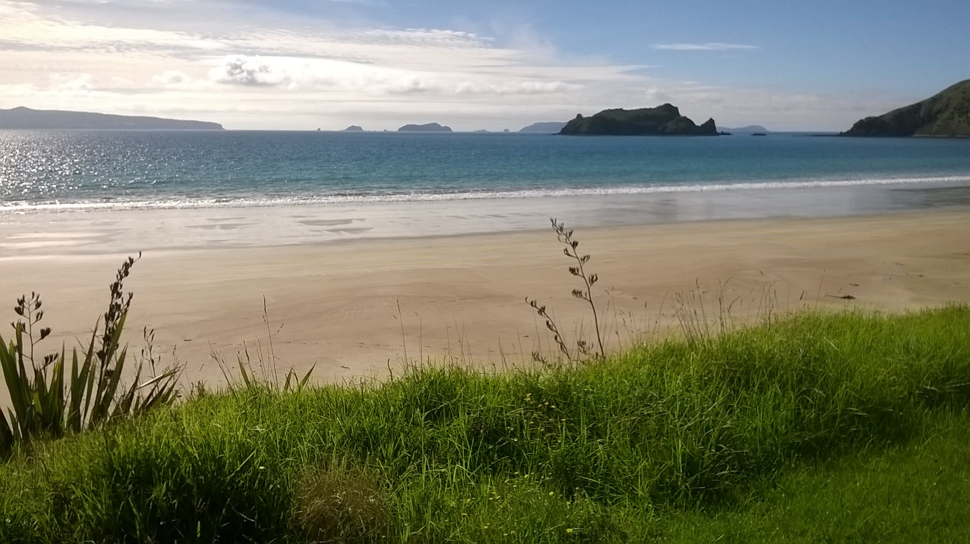 Opito Bay, NZ, photo by Val Mills