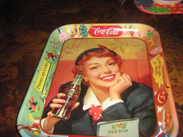 A Coke memorabilia,