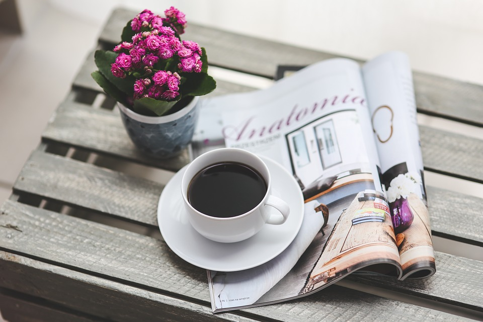Image from Pixabay: https://pixabay.com/en/coffee-magazine-newspaper-read-791439/