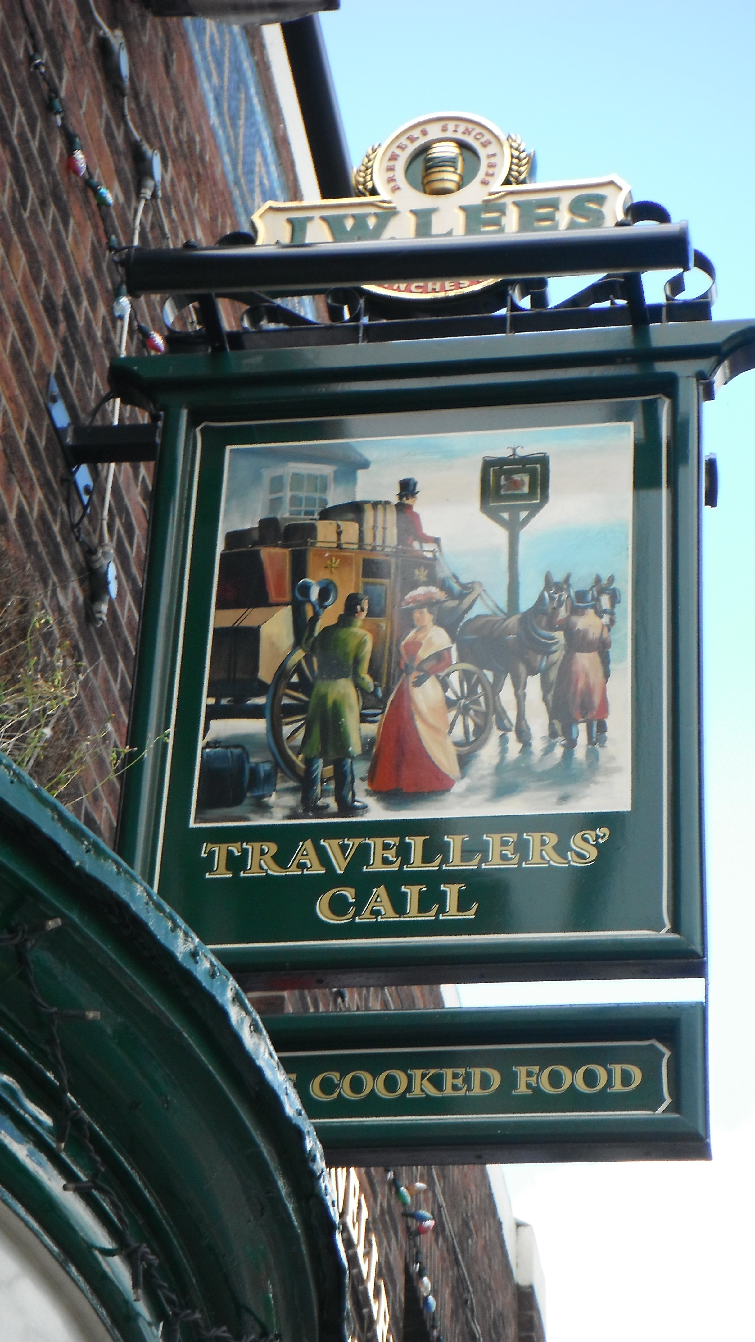 Photo taken by me - The Traveller's Call Bredbury