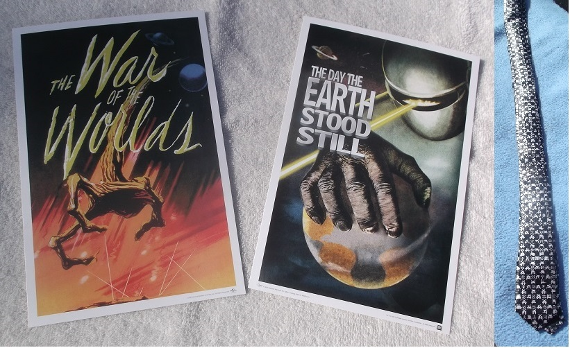 Movie Advertisements Recreated Mini Posters -- Photo taken by me