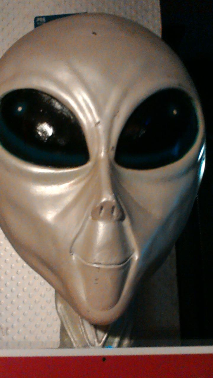 photo taken by me - Alien in Bar 21, Manchester
