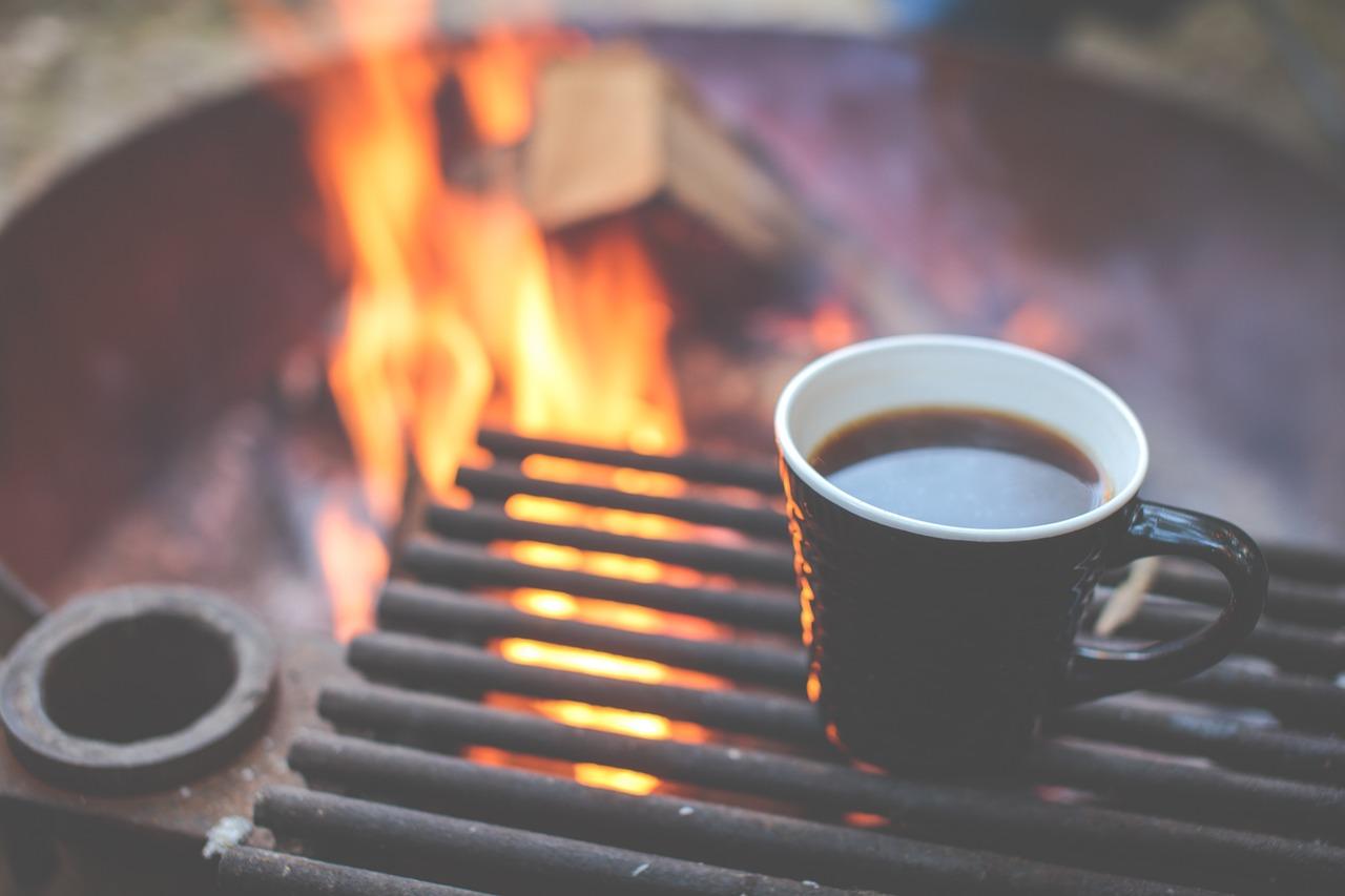 Ahhh, camp coffee (Pixabay)