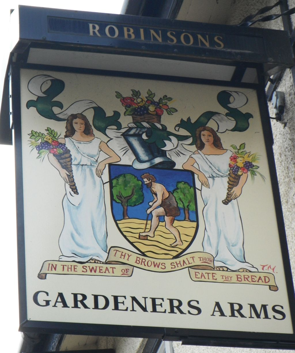 Photo taken by me – pub sign for The Gardeners Arms - Wythenshawe Manchester