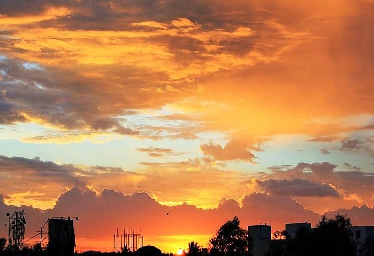 evening sky, sofspics