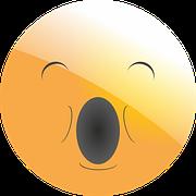 https://pixabay.com/en/emoticon-smiley-tired-yawn-sleep-1406972/