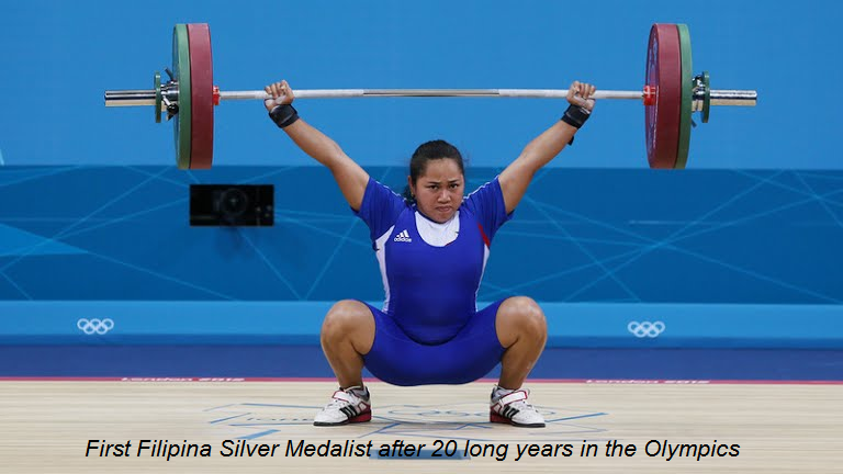 First WeightLifting Medal in Philippine History