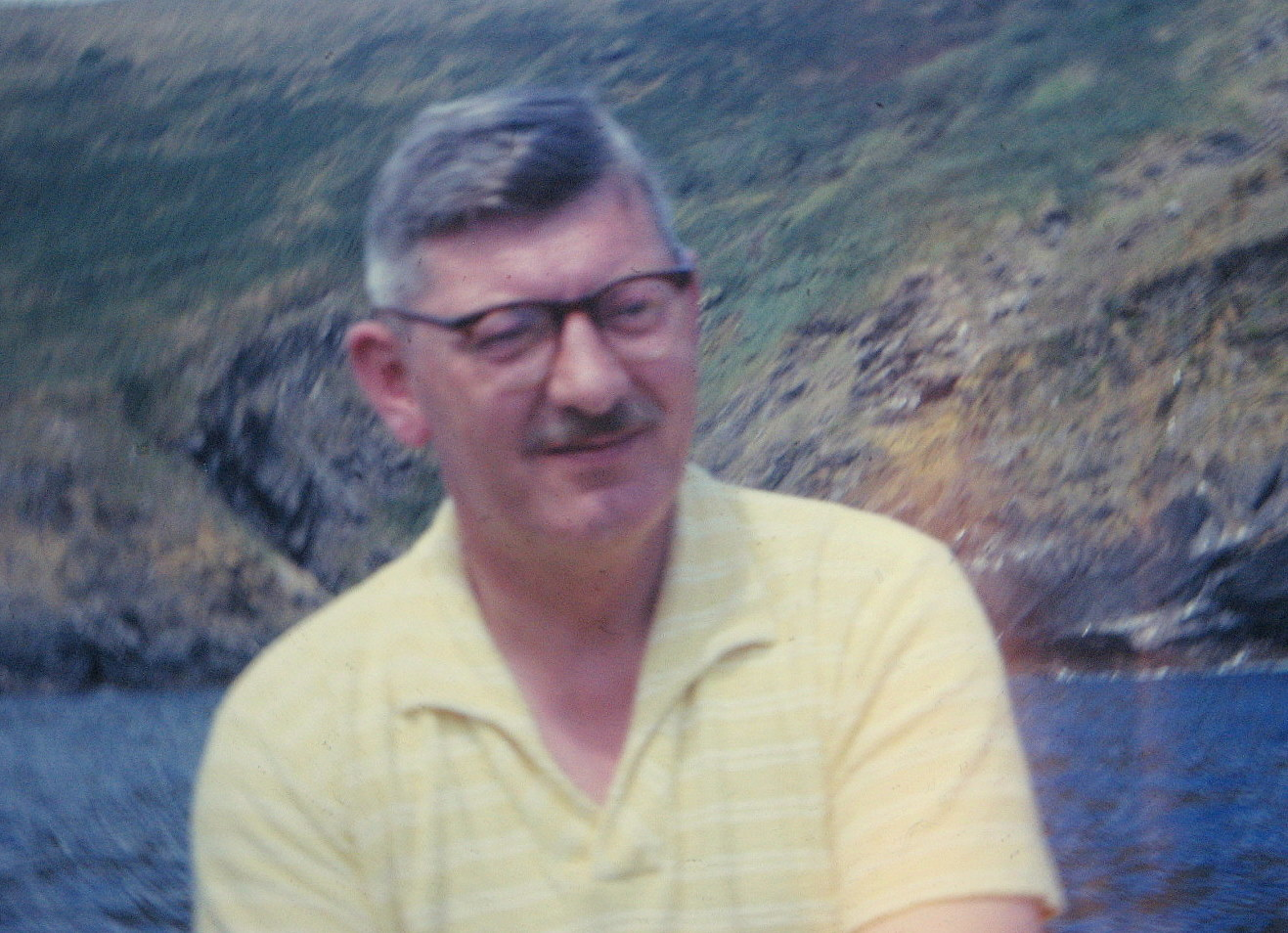 The only picture I have of my father on my system.  He would have been in his 40s when it was taken.