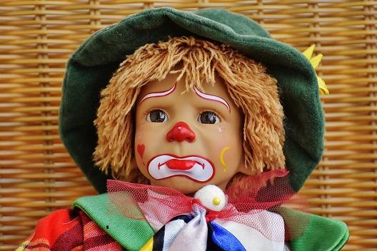 sad doll face