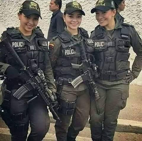 pretty and sexy police