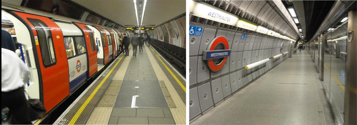 Underground platforms