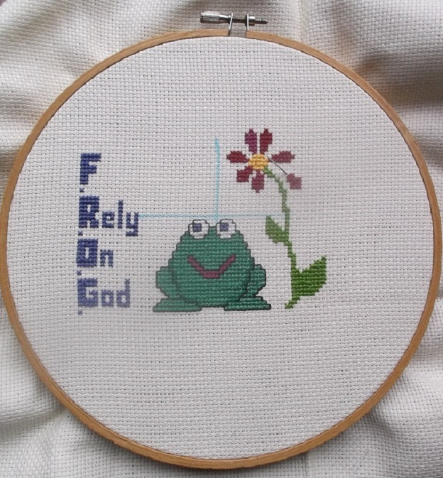 Progress on my current counted cross stitch project.