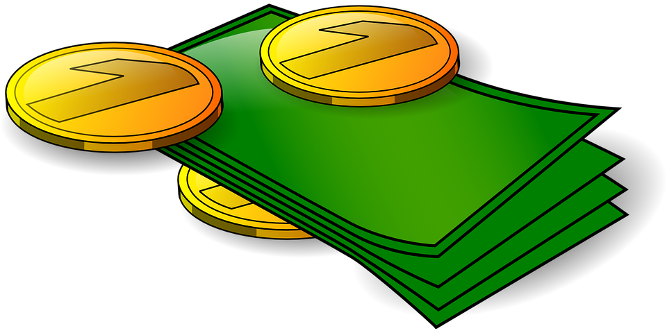 money by Clker-Free-Vector-Images/Pixabay/Public Domain