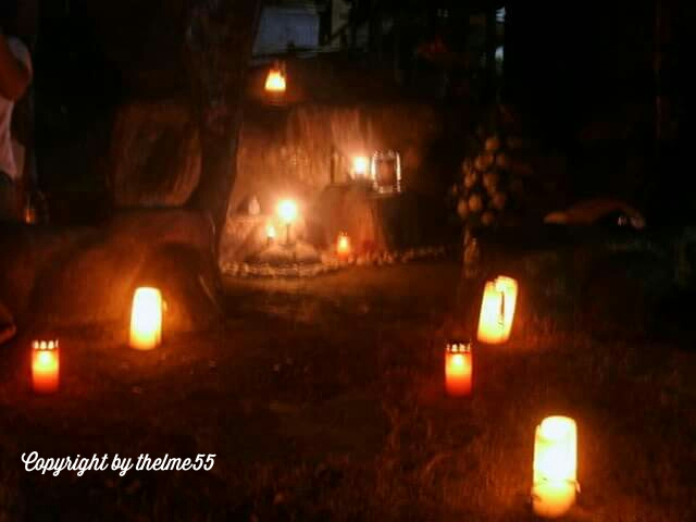 Cemetery at All Souls Day in the Philippines