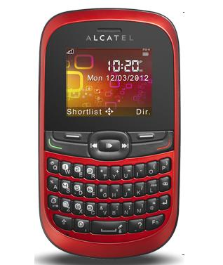 Tracfone Alcatel One Touch 205S.  Lifeline Program phone. picture used under the Fair trade act.